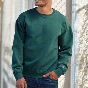 Custom Champion - Garment Dyed Crewneck Sweatshirt